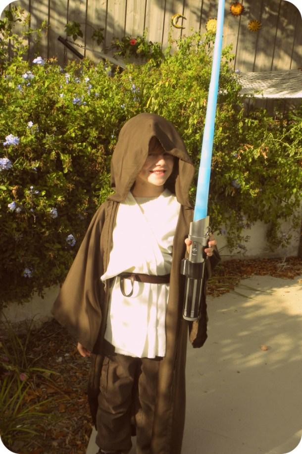 DIY Jedi Costume | Kerry Ann Morgan
