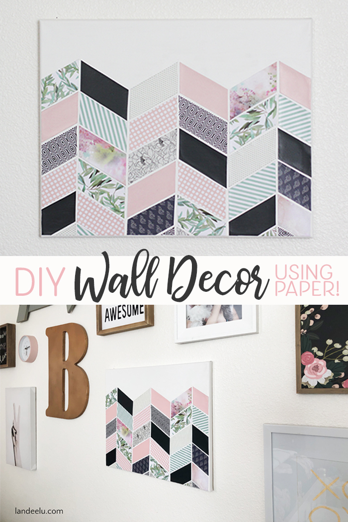 Darling Diy Wall Decor For Girl S Bedroom