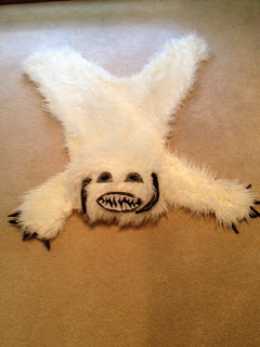 DIY Wampa Rug | Health, Wealth, and Home