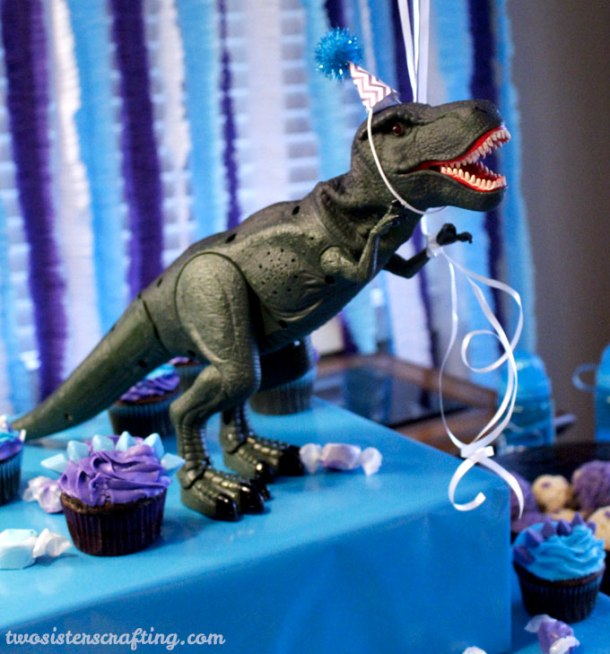 Dino Party Hats | Two Sisters Crafting