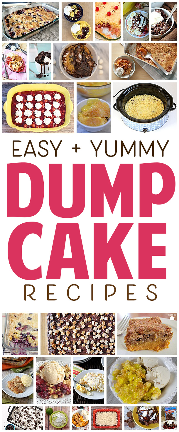 Everyone loves a dump cake! It's the perfect dessert! Just dump in the ingredients and bake! Perfectly moist and delicious every time. Perfect for birthday parties, backyard BBQs and any special occasion! Basically the perfect dessert! #dessertrecipe #dumpcake #cakerecipe #easycakerecipe #birthdaycake #birthdayparty #dessertidea