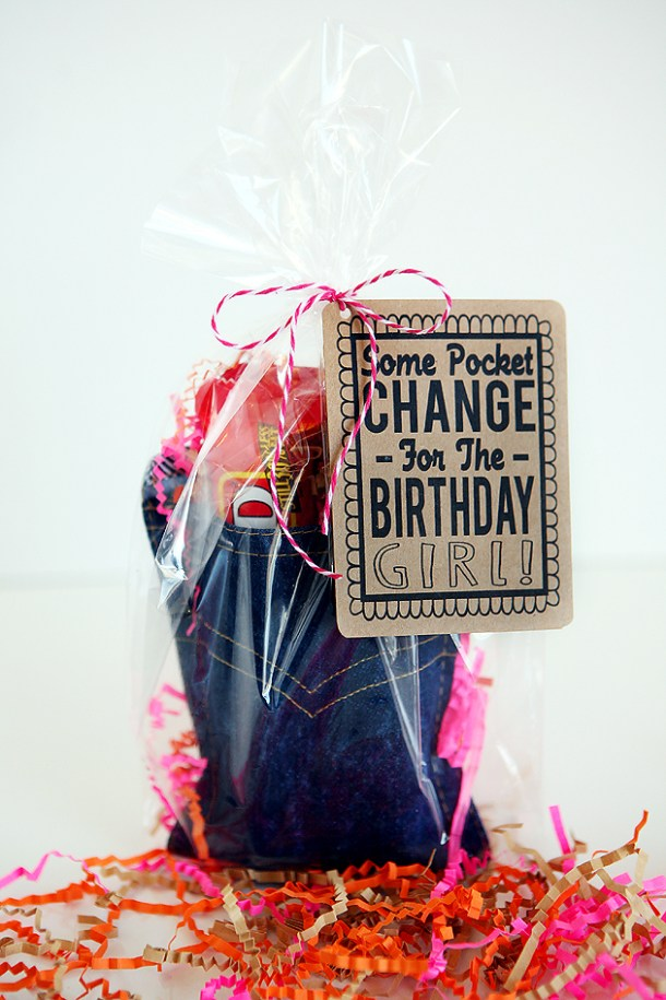 Pocket Change Birthday Gift | Eighteen25