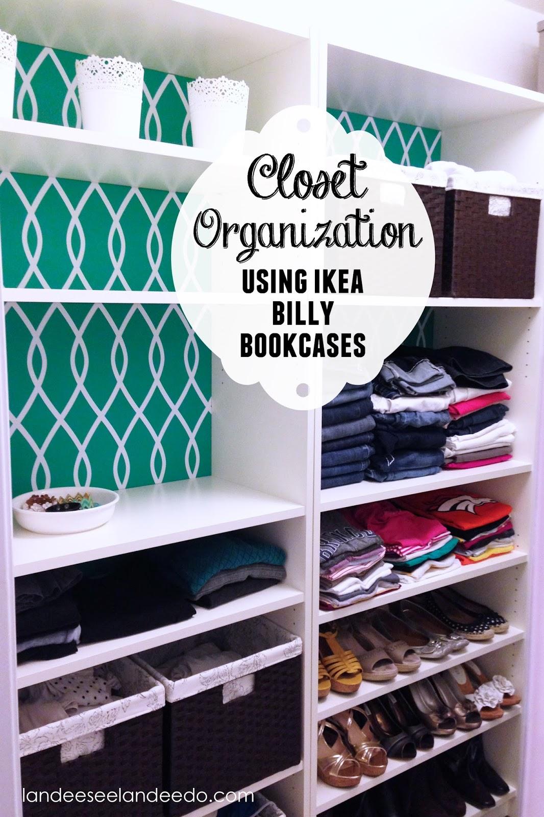Closet Makeover Ikea Billy Bookcases Landeelu Com