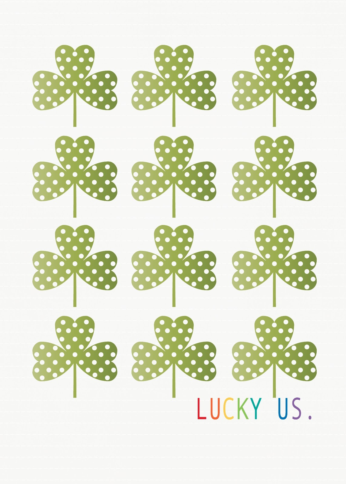 picture about St Patricks Day Printable known as Privileged Us Printable- St. Patricks Working day -