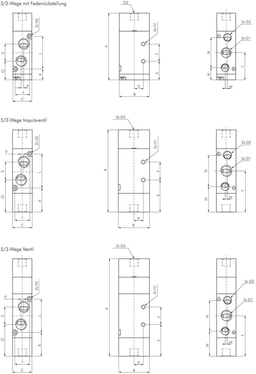 Emc 5 2 Directional Amp 5 3 Directional Pneumatic Valves G 1