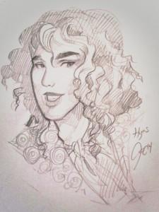 Hyacinthe il Dardo e la Rosa di Jacqueline Carey - Lande Incantate