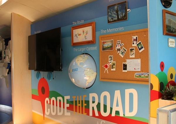 google maps globemaking, code the road globe