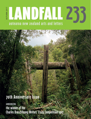 Landfall latest issue