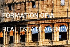 formation of a real estate agency