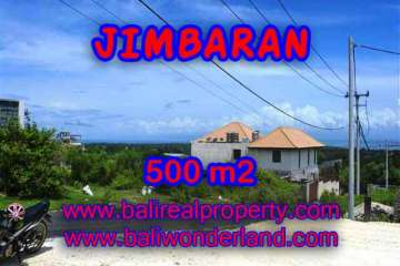 Land in Jimbaran Bali for sale, Outstanding view in Jimbaran Ungasan – TJJI066-x