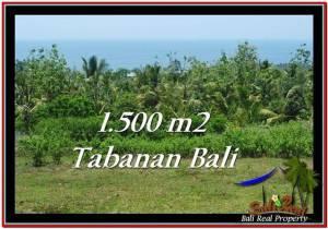 FOR SALE 1,500 m2 LAND IN TABANAN TJTB234