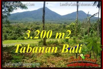 Exotic 3,200 m2 LAND SALE IN TABANAN TJTB319