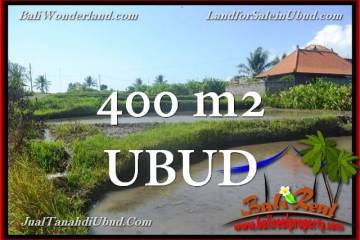 Affordable 400 m2 LAND IN UBUD BALI FOR SALE TJUB659