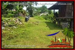 Beautiful PROPERTY Tabanan Selemadeg BALI 1,600 m2 LAND FOR SALE TJTB378