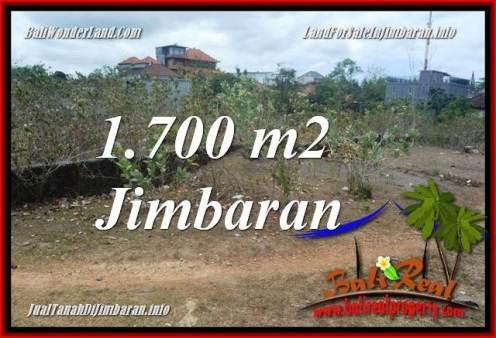 Beautiful PROPERTY 1,700 m2 LAND FOR SALE IN JIMBARAN BALI TJJI130