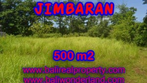 Land for sale in Bali, Spectacular view in Jimbaran four seasons – TJJI065