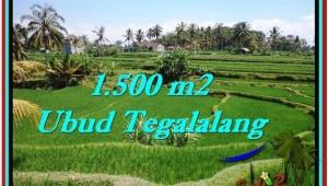 Beautiful PROPERTY Ubud Tegalalang 1,500 m2 LAND FOR SALE TJUB528