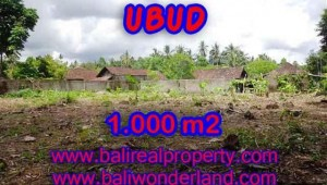 Land for sale in Bali, amazing view in Ubud Center – TJUB373