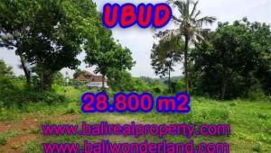 Land in Ubud for sale, Stunning view in Gianyar Bali – TJUB366