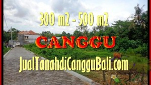 Exotic PROPERTY CANGGU 510 m2 LAND FOR SALE TJCG150