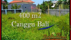 Magnificent 400 m2 LAND FOR SALE IN CANGGU TJCG189