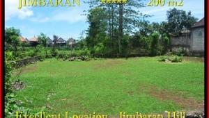 FOR SALE Exotic 200 m2 LAND IN Jimbaran Ungasan TJJI087
