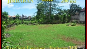 FOR SALE Exotic 200 m2 LAND IN Jimbaran Ungasan TJJI087