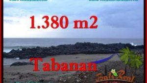 LAND IN Tabanan Selemadeg BALI FOR SALE TJTB270