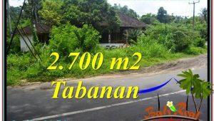 Exotic Tabanan Kerambitan BALI LAND FOR SALE TJTB299