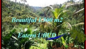Magnificent 1,500 m2 LAND IN UBUD BALI FOR SALE TJUB503