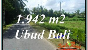 Magnificent 1,942 m2 LAND FOR SALE IN UBUD BALI TJUB626