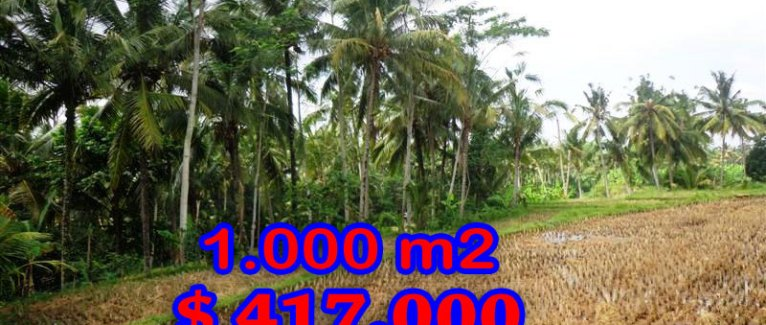 Astonishing Property in Bali, Land in Ubud Bali for sale – TJUB236