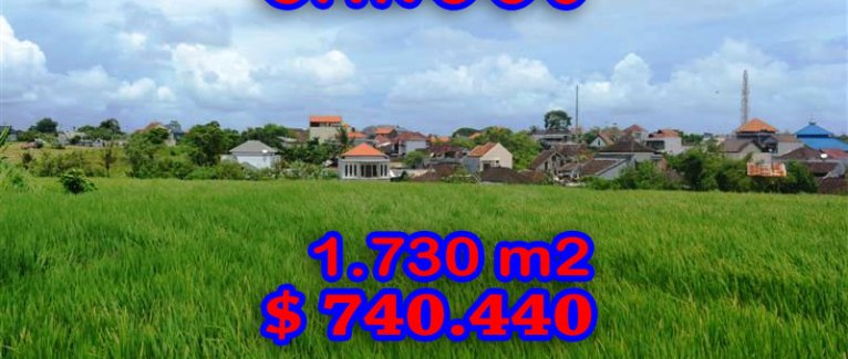 Land in Bali for sale, extraordinary view in Canggu Echo Beach – TJCG095