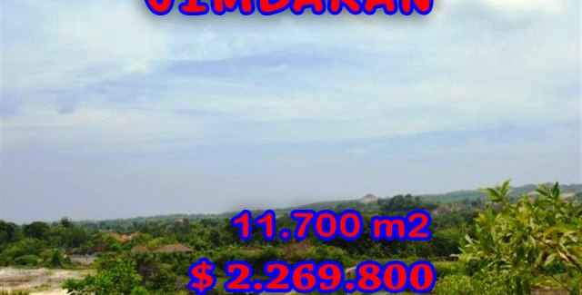 Land in Bali for sale, fantastic view in Jimbaran Bali – TJJI017