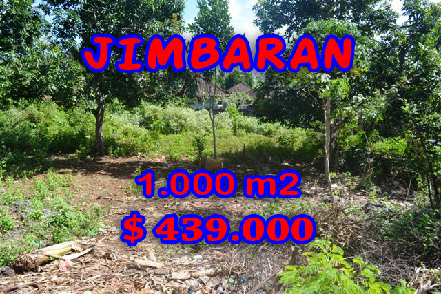 Property for sale in Jimbaran Bali, Interesting land for sale in Jimbaran Ungasan  – 1.000 sqm @ $ 439