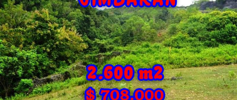 Land for sale in Bali, Fantastic view in Jimbaran Bali – TJJI032