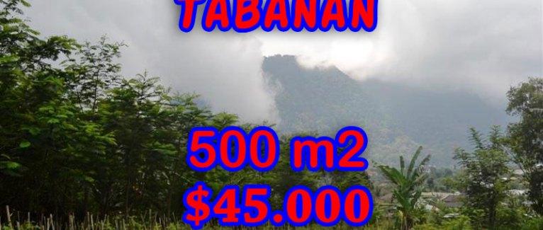 Land for sale in Bali, Outstanding view in Tabanan Bedugul Bali – TJTB063