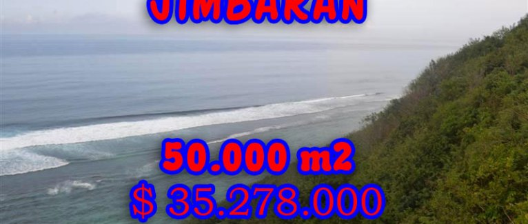 Land in Bali for sale, Extraordinary view in Jimbaran Bali – TJJI029