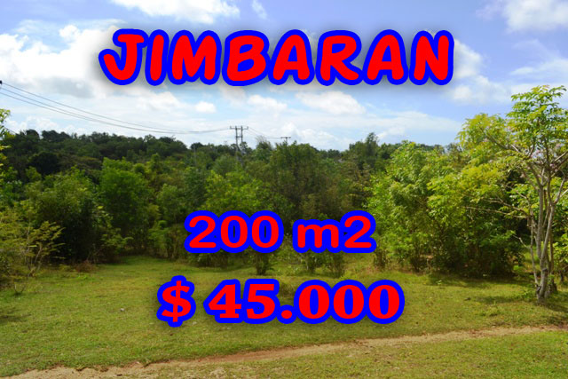 Magnificent Property for sale in Bali Indonesia, land for sale in Jimbaran Bali  – 200 m2 @ $ 222