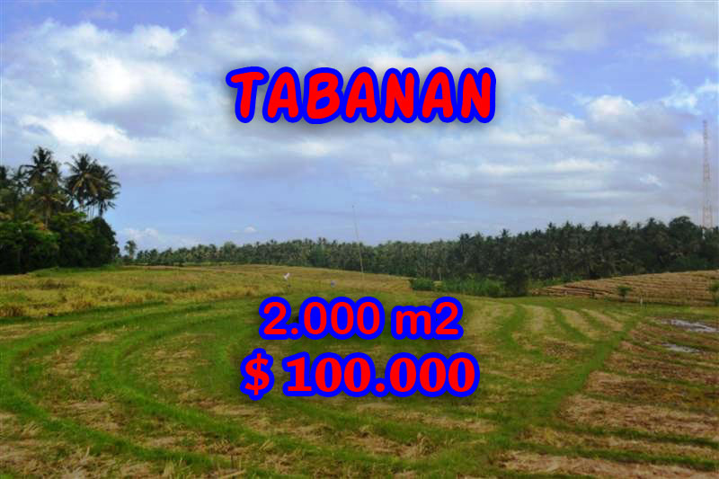 Land in Bali for sale, incredible view in Tabanan Tanah Lot Bali – TJTB055