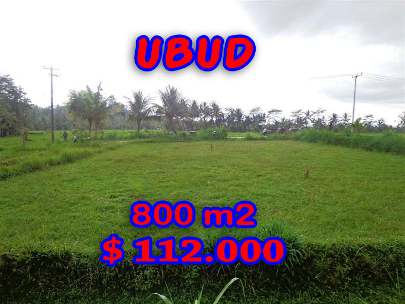 Land in Bali for sale, great view in Ubud Bali – TJUB284