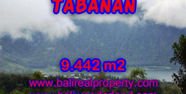 Land in Tabanan Bali for sale, Incredible view in TABANAN BEDUGUL – TJTB081