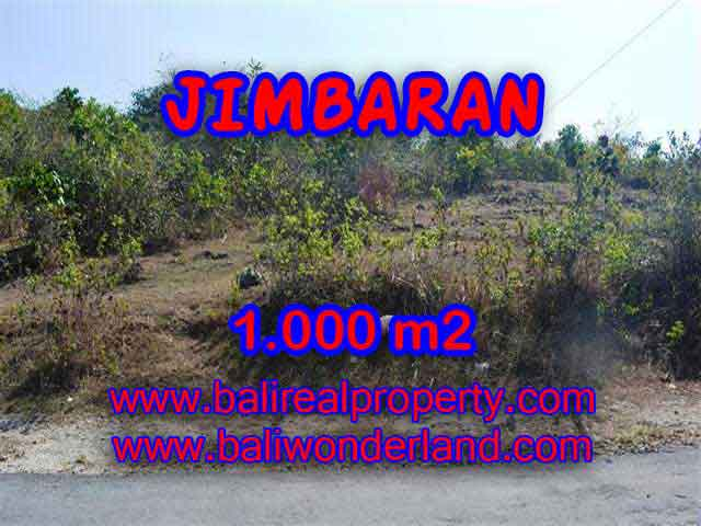 Land for sale in Bali, Fantastic view in Jimbaran Ungasan – TJJI074