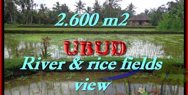 Land for sale in Ubud, Magnificent view in Ubud Tegalalang Bali – TJUB421