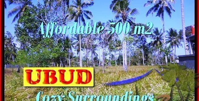 Magnificent 500 m2 LAND SALE IN UBUD TJUB433