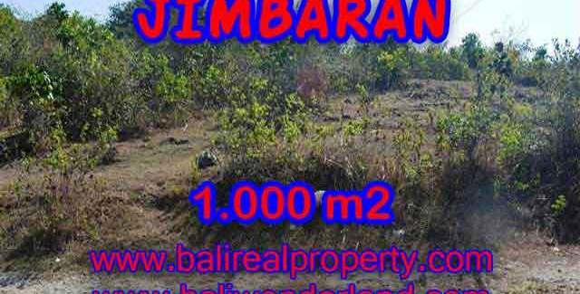 Exotic PROPERTY JIMBARAN 1,000 m2 LAND FOR SALE TJJI074
