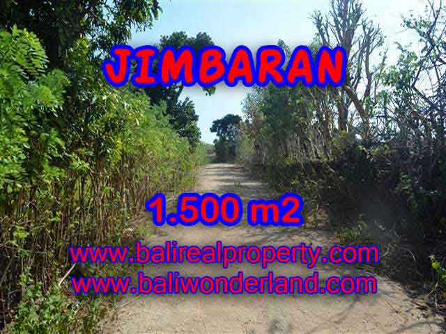 Magnificent PROPERTY JIMBARAN BALI 1,500 m2 LAND FOR SALE TJJI075