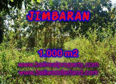 Exotic PROPERTY 1,000 m2 LAND SALE IN JIMBARAN TJJI071