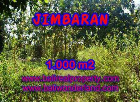 Magnificent PROPERTY JIMBARAN BALI 1,000 m2 LAND FOR SALE TJJI071