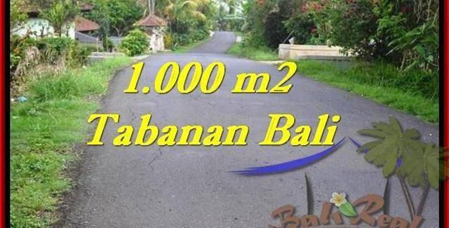 FOR SALE Affordable 1,000 m2 LAND IN TABANAN TJTB243